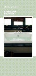 BATHS AND SHOWERS - American Standard