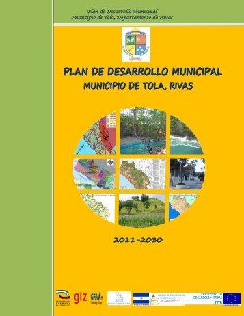 Plan de Desarrollo Municipal Municipio de Tola ... - MASRENACE