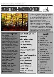 genauere Infos unter: www.im-maxim.de - SEHstern e.V.