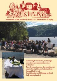 Treklang 4-13 - Den norske kirke