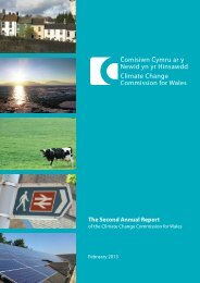 Second Annual Report of the Climate Change Commission for Wales
