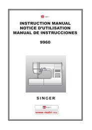 instruction manual notice d'utilisation manual de instrucciones 9960