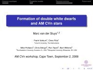 Formation of double white dwarfs and AM CVn stars