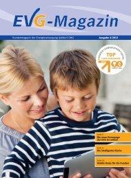 neuen Ausgabe des EVG-Kundenmagazins. - Energieversorgung ...