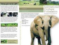 Warum gibt es die IEF? - Zoo Wuppertal