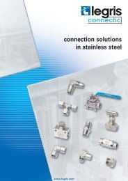 connection solutions in stainless steel - Normapress