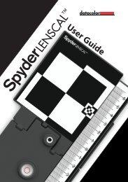SpyderLensCal User's Guide - Datacolor.com