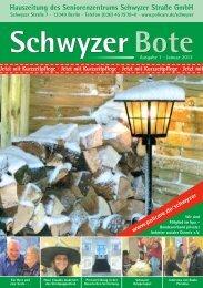 Ausgabe Januar 2012 - Wohnen - Betreuen - Pflegen