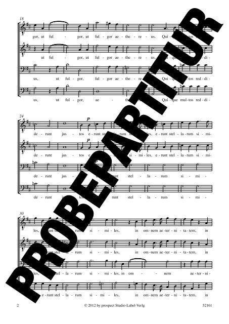 PERITI AUTEM - prospect Studio-Label-Verlag