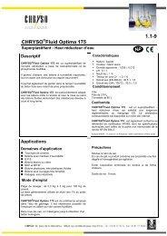 1.1-9 CHRYSO Fluid Optima 175