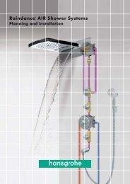 Raindance® AIR Shower Systems - Hansgrohe
