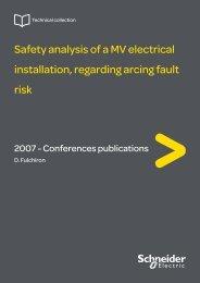 Safety analysis of a MV electrical installation ... - Schneider Electric