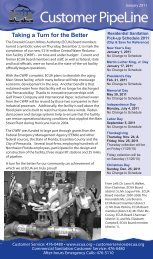 January Pipeline Newsletter - Escambia County Utilities Authority
