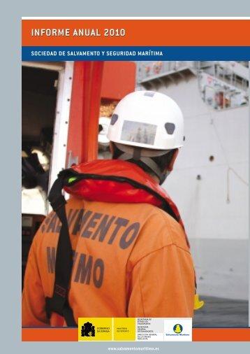 informe anual 2010 informe anual 2010 - Salvamento Marítimo