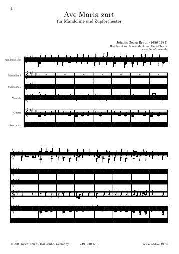 Finale 2005 - [06011-10 ave-Maria-zart m-Zo] - Edition 49