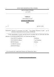 Leggi Delibera n. 37 - Il Parco del Conero