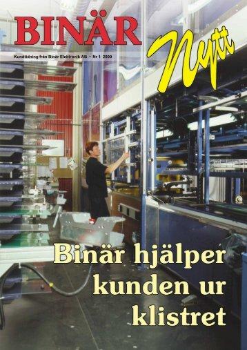 BinärNytt nr 1 2000 - Binar Elektronik