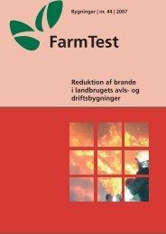 Reduktion af brande i landbrugets avls- og ... - LandbrugsInfo