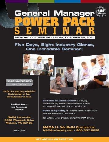 POWER PACK - LightSpeed VT