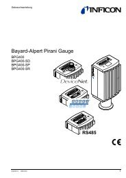 Bayard-Alpert Pirani Gauge