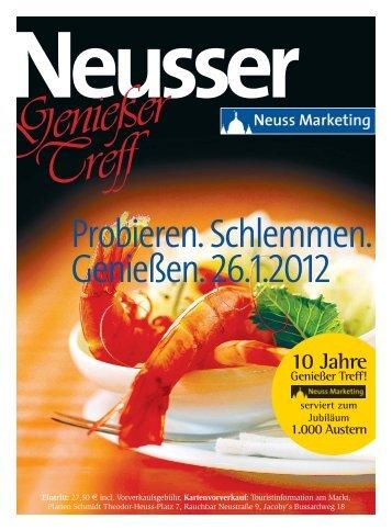 Genießer Treff 2012 - Neuss Marketing