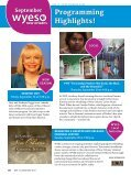 WYES ProgrAm guidE ~ SEPtEmbEr 2012 - Page 2