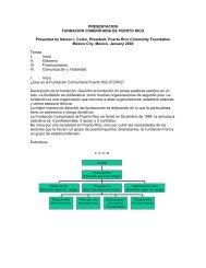 PRESENTACION FUNDACION COMUNITARIA DE ... - Synergos