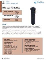 F112100 Donaldson High Pressure Hydraulic Filtration - odms.net.au