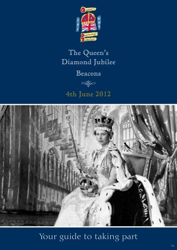 The Queen's Diamond Jubilee Beacons 4th June 2012 Your guide ...