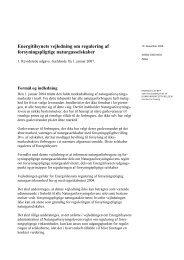 Energitilsynets vejledning om regulering af forsyningspligtige ...