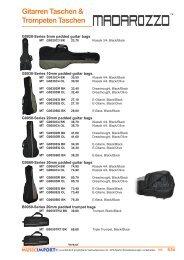 Gitarren Taschen & Trompeten Taschen
