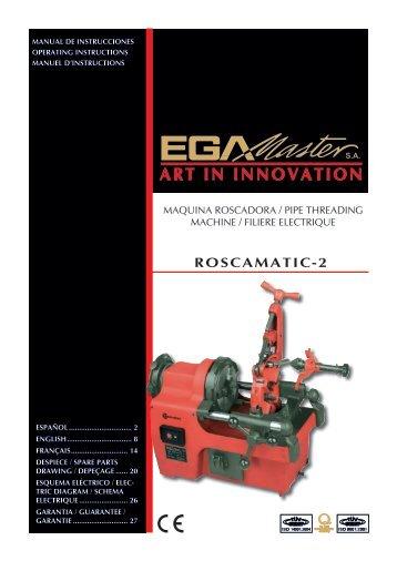 ROSCAMATIC-2 - Ega Master