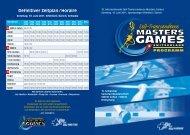 Definitiver Zeitplan / Horaire - Sri Chinmoy Marathon Team - Schweiz
