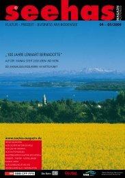 freizeit - business am bodensee - Seehas Magazin