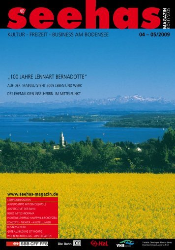 freizeit - business am bodensee - Seehas Magazin