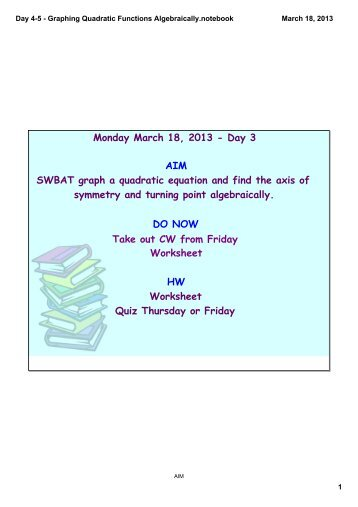 Day 1 - Solving Word Problems by using equations ... - CCSD Blogs