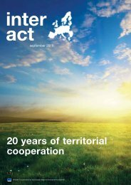 20 years of territorial cooperation