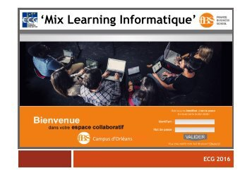 'Mix Learning Informatique'