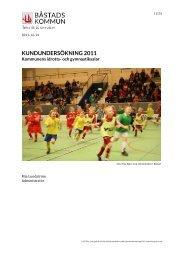 KUNDUNDERSÖKNING 2011 - Båstads kommun