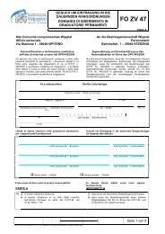 FO ZV 47 - Bezirksgemeinschaft Wipptal