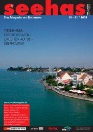 titelthema: friedrichshafen - eine stadt auf der ... - Seehas Magazin