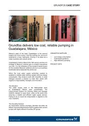 Grundfos delivers low cost, reliable pumping in Guadalajara, México