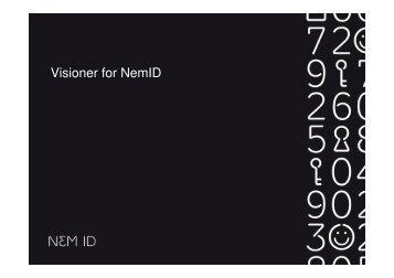 Visioner for NemID - CFIR
