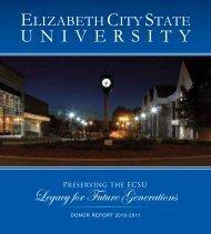 2010 - 2011 - Elizabeth City State University
