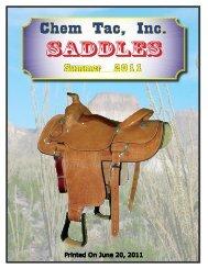 Saddles - Chem Tac, Inc.