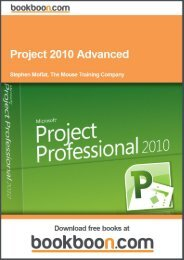 MS Project 2010 Advanced