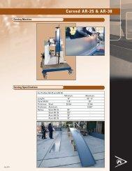 Curved Profiles - Agway Metals Inc