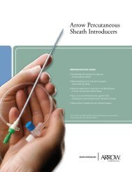 Arrow Percutaneous Sheath Introducers
