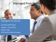 Managed Print Services - Advania