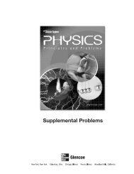Supplemental Problems